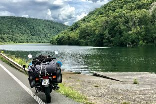 Our tips on how to properly load a motorcycle