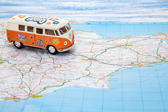 A road trip in a campervan: our tips before you set off